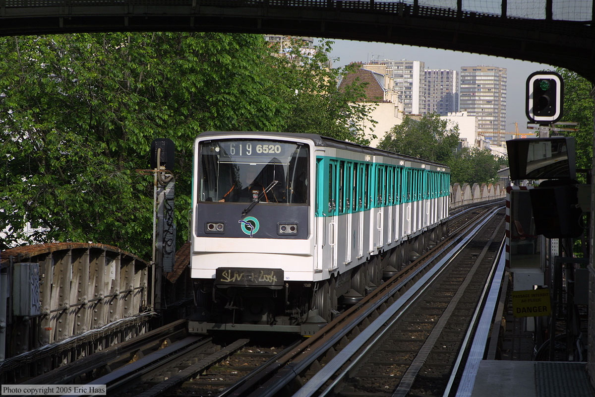 Paris M�tro Line 6