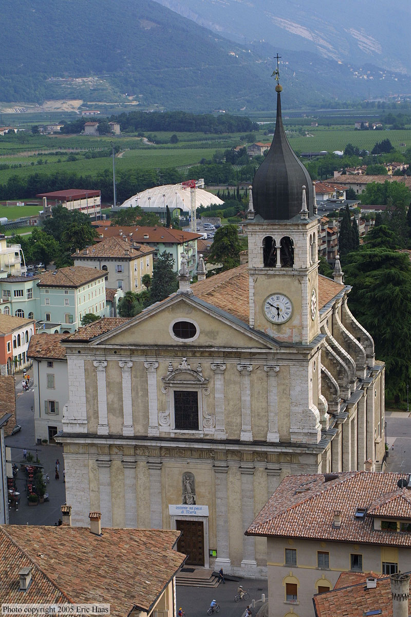 Arco Italy  City new picture : Church in Arco, Italy.